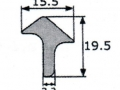 PERFIL DE PUERTA RENAULT 6_8_10_SIMCA 1000