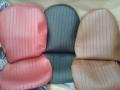 JGO FUNDAS SEAT 600 TRES COLORES ROJO_NEGRO_MARRON