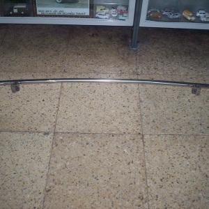 PROTECTOR TRASERO CROMO SEAT-600 Y OTROS