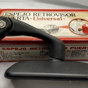 UNI111CA-ESPEJO-RETROVISOR-EXT.-NEGRO-PLASTICO.-BRAZO-LARGO.-PINZA.-SIN-MANO