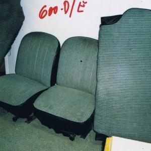 JGO. ASIENTOS SEAT-600-D/E TELA PARA TAPIZAR